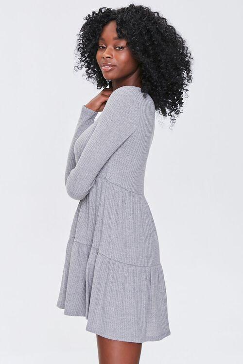 Ribbed Knit Mini Dress, image 2
