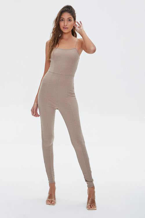 Ribbed Cami Jumpsuit, image 2