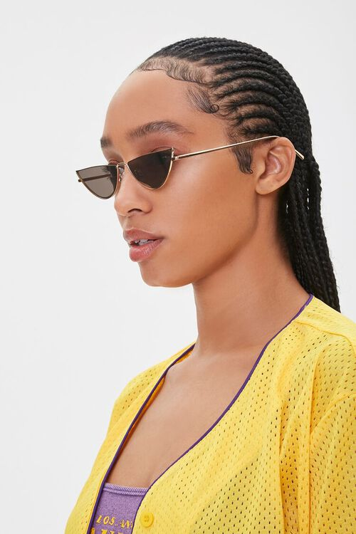 Metal Triangle Sunglasses, image 2