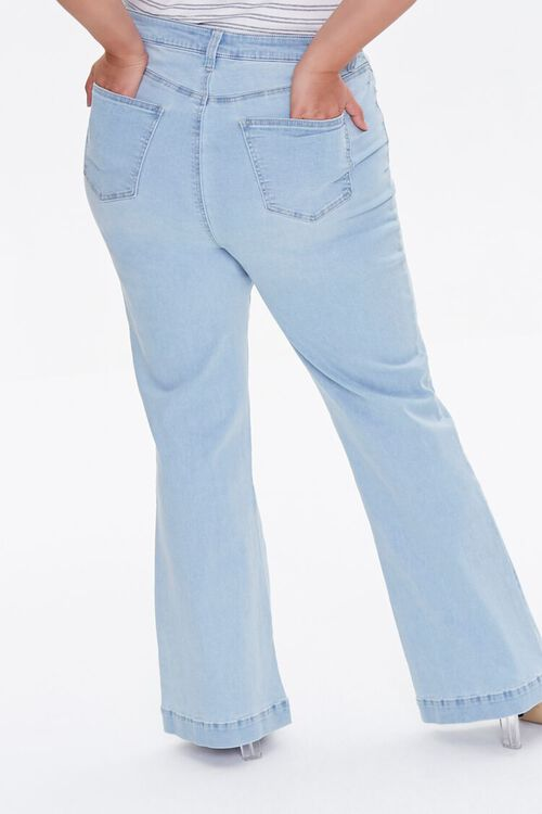 Plus Size High-Rise Flare Jeans, image 4