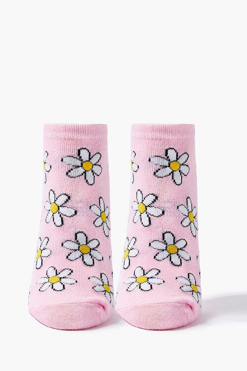 Daisy Print Ankle Socks, image 1