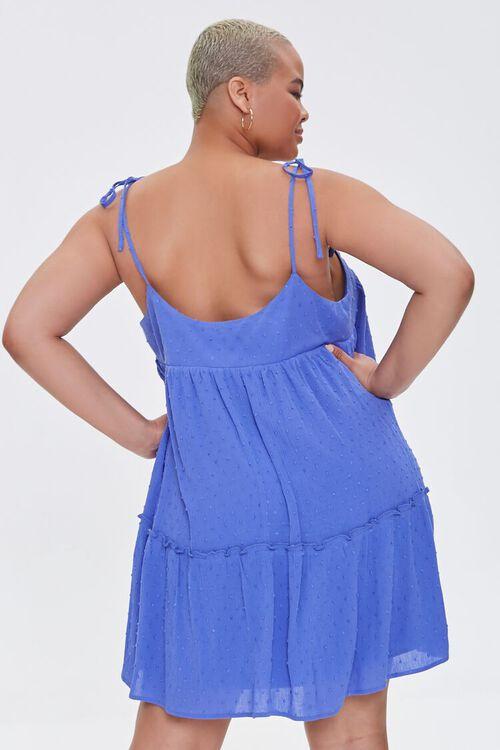 Plus Size Clip Dot Mini Dress, image 3
