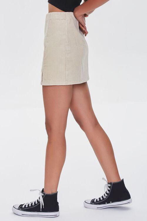 CREAM Corduroy Mini Skirt, image 3