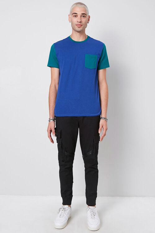 Colorblocked Cotton Tee, image 4