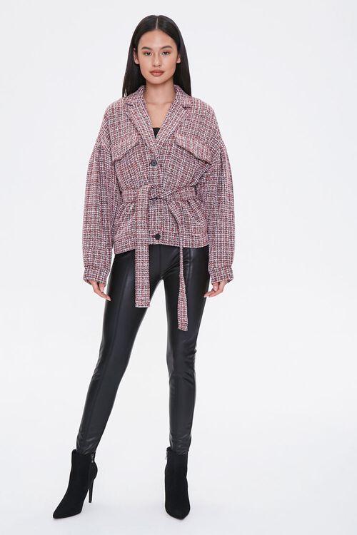 Tie-Waist Tweed Jacket, image 4