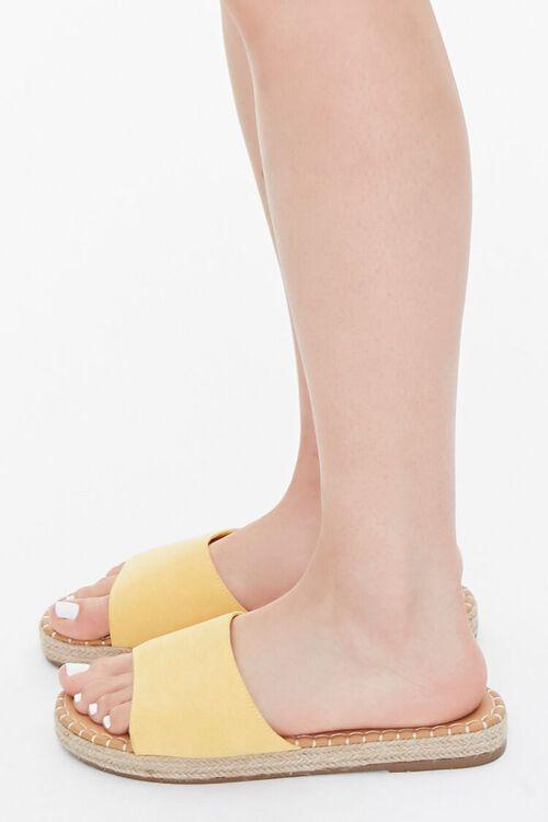 Faux Suede Espadrille Sandals, image 2