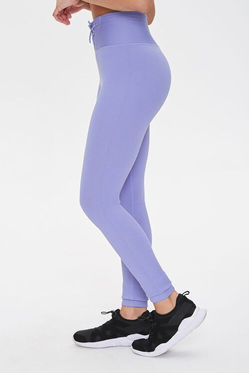 Active Seamless Lace-Up Leggings, image 3