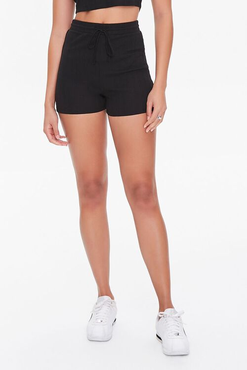 Cropped Tee & Drawstring Shorts Set, image 6