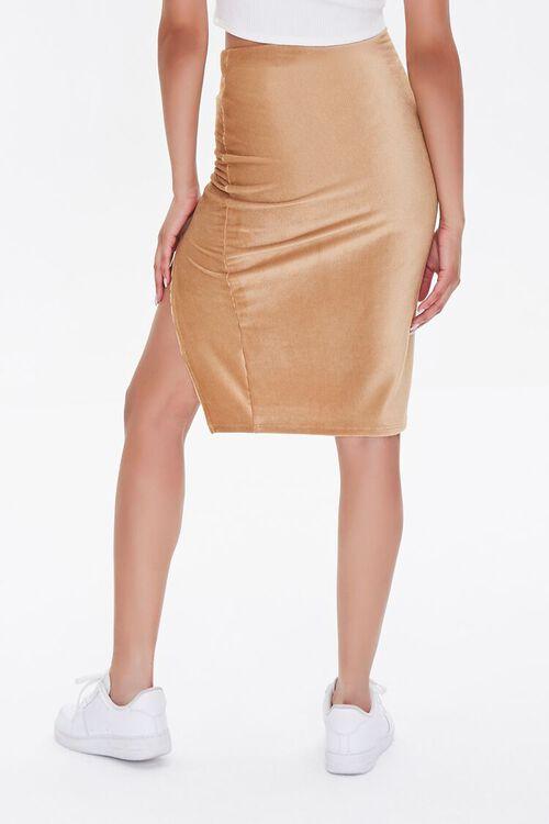 Leg-Slit Pencil Skirt, image 4