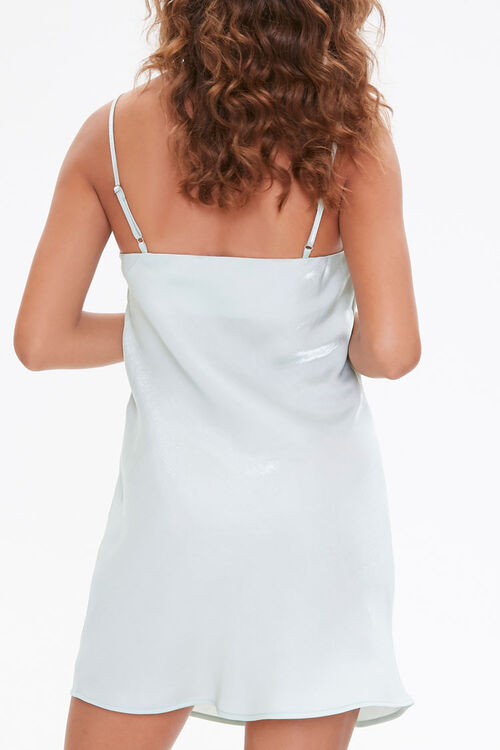 Satin Cami Mini Dress, image 3