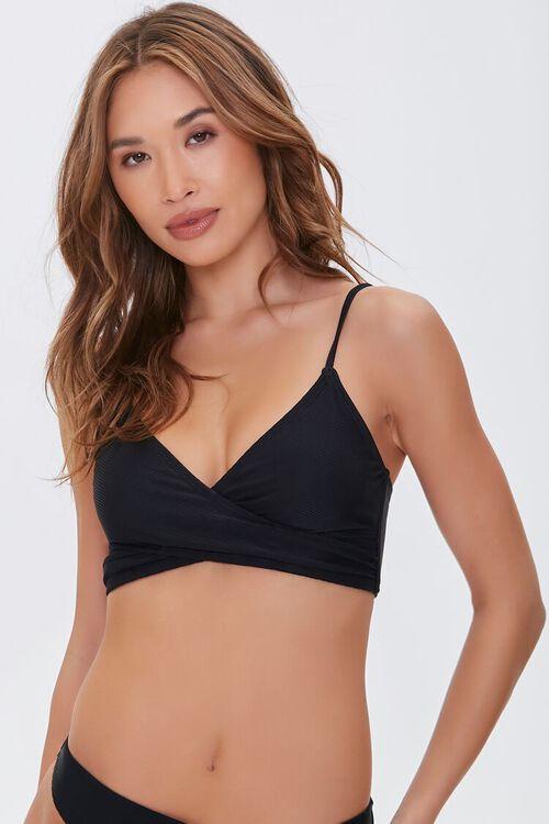 Crisscross Bralette Bikini Top, image 1