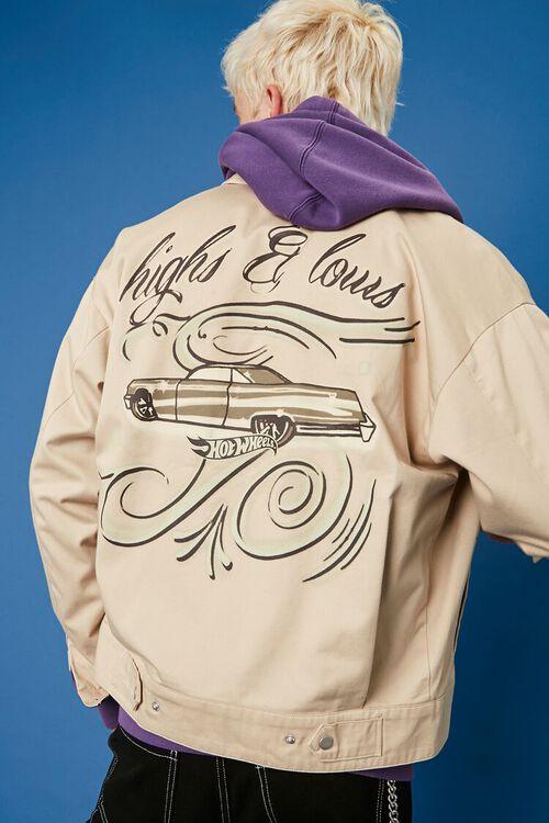 Hot Wheels Graphic Bomber Jacket, image 4