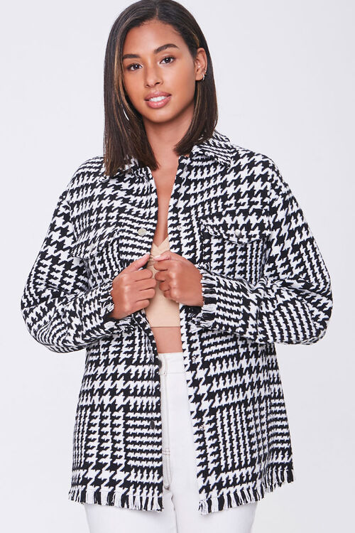 Tweed Houndstooth Jacket, image 1