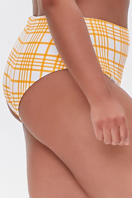 Plus Size Plaid Bikini Bottoms, image 3