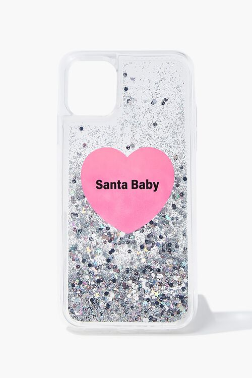 Santa Baby Glitter Case for iPhone 11, image 1