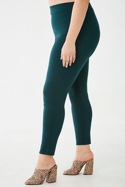 Plus Size Pull-Ring Leggings, image 3
