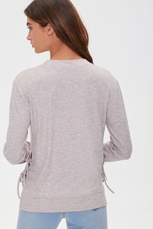 Lace-Up High-Low Top, image 4