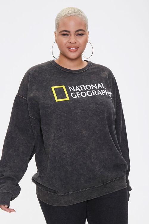 Plus Size National Geographic Sweatshirt, image 1