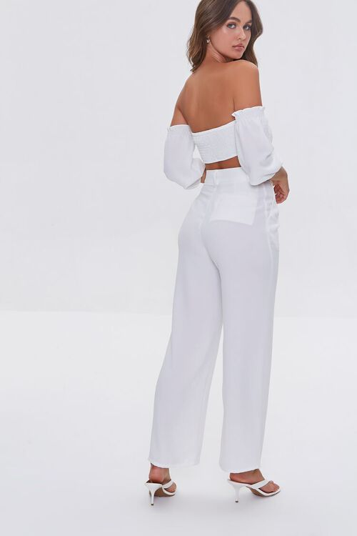 Crop Top and High-Rise Pants Set, image 3