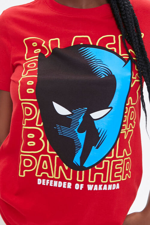 Black Panther Graphic Tee, image 5