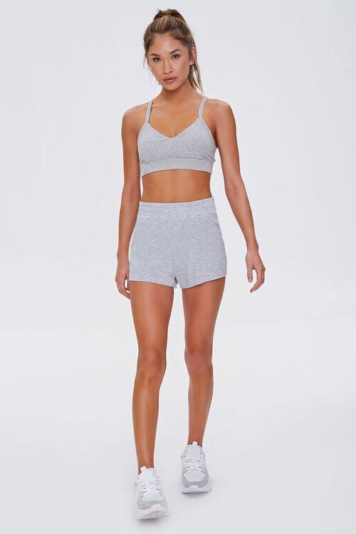 Heathered Pull-On Shorts, image 5