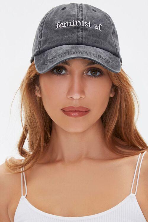 Feminist AF Baseball Cap, image 1