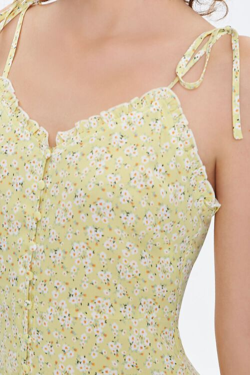 Floral Self-Tie Cami Dress, image 5