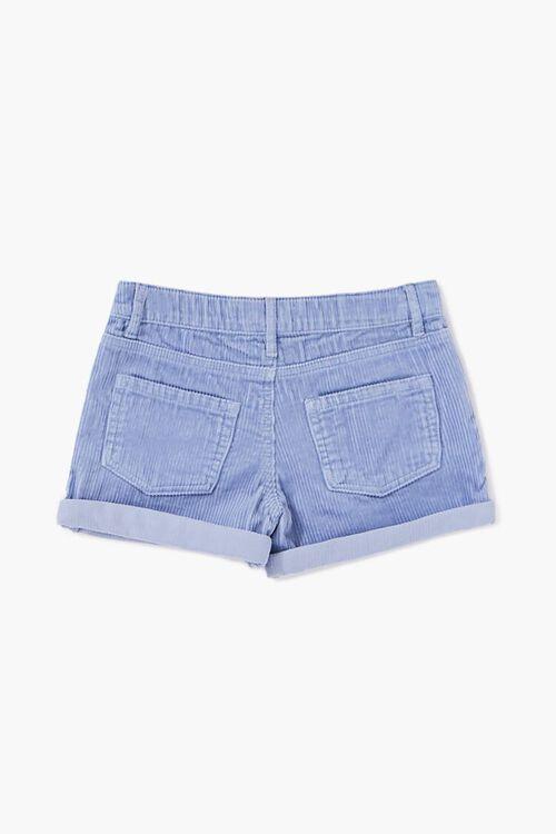 Girls Cuffed Corduroy Shorts (Kids), image 2