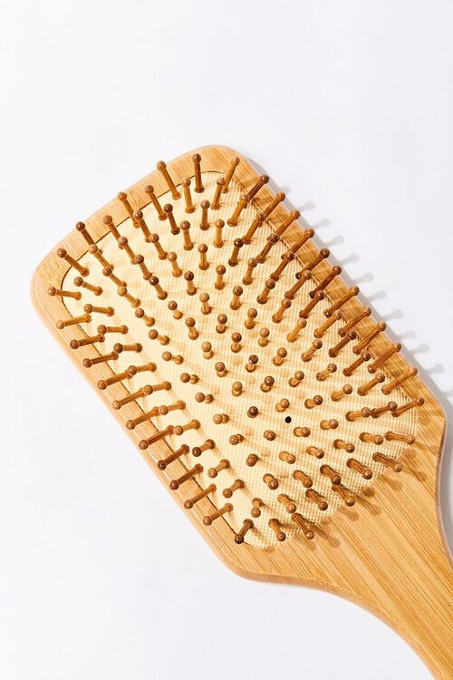 Bamboo Paddle Hair Brush, image 3
