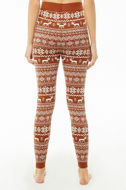 Nordic Pattern Knit Leggings, image 3