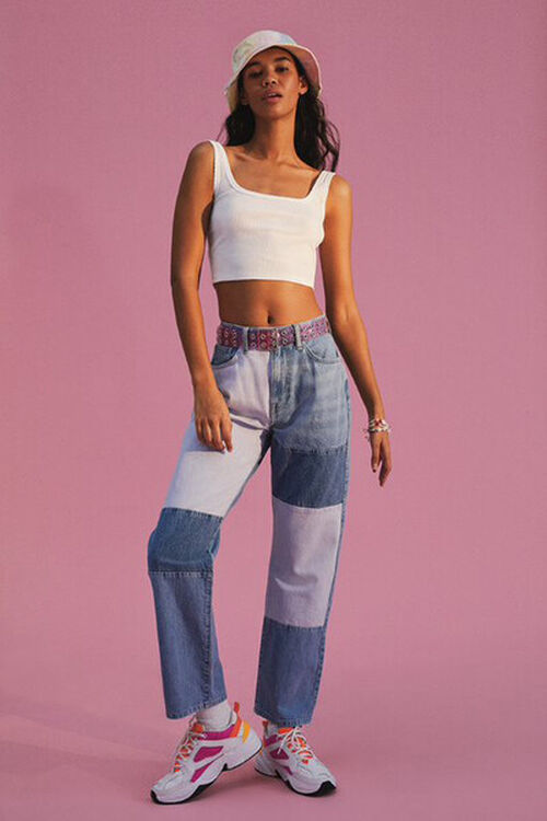Reworked Straight-Leg Jeans, image 1