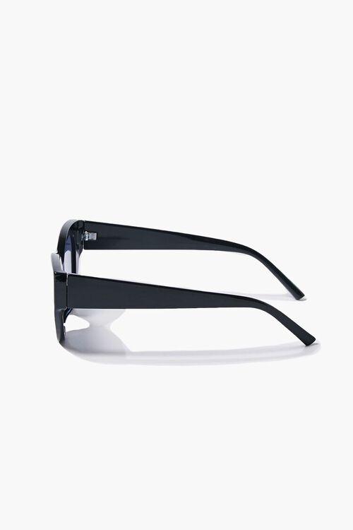BLACK/BLACK Tinted Cat-Eye Sunglasses, image 5