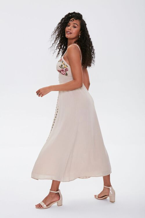 Floral Embroidered Maxi Dress, image 2