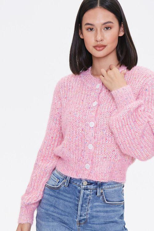 Marled Cardigan Sweater, image 1