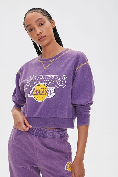 Los Angeles Lakers Fleece Pullover, image 5