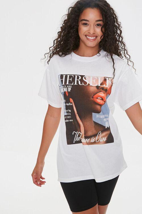Herself Magazine Graphic Tee, image 6