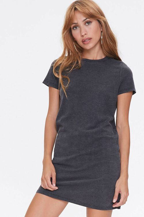 Crew Neck T-Shirt Dress, image 1