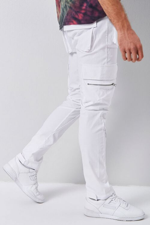 Dual-Cargo Pocket Drawstring Pants, image 3
