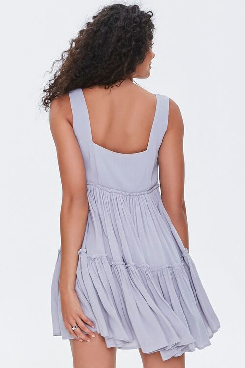 Shirred Tiered Mini Dress, image 3