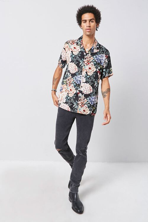 Classic Fit Floral Shirt, image 4