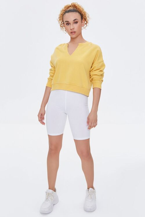 Split-Neck Sweatshirt, image 4