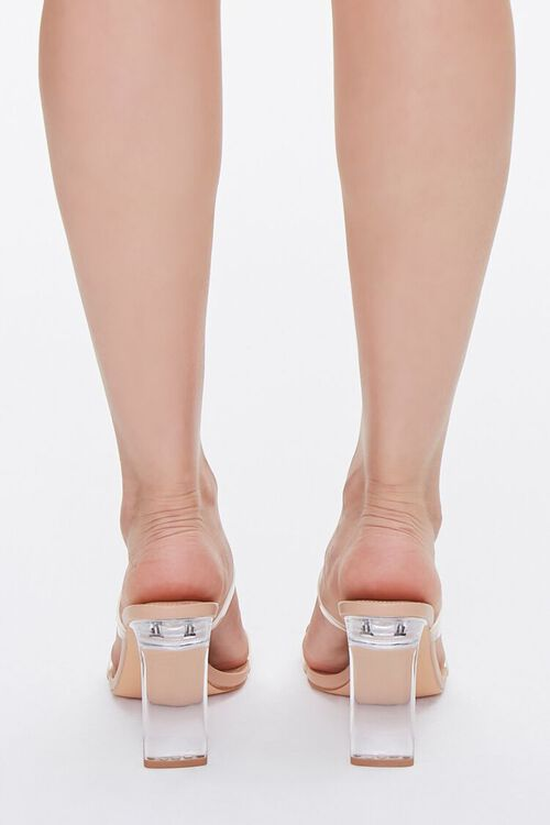 Strappy Lucite Block Heels, image 3