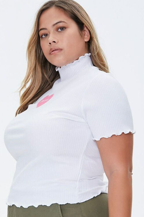 Plus Size You Wish Graphic Tee, image 2
