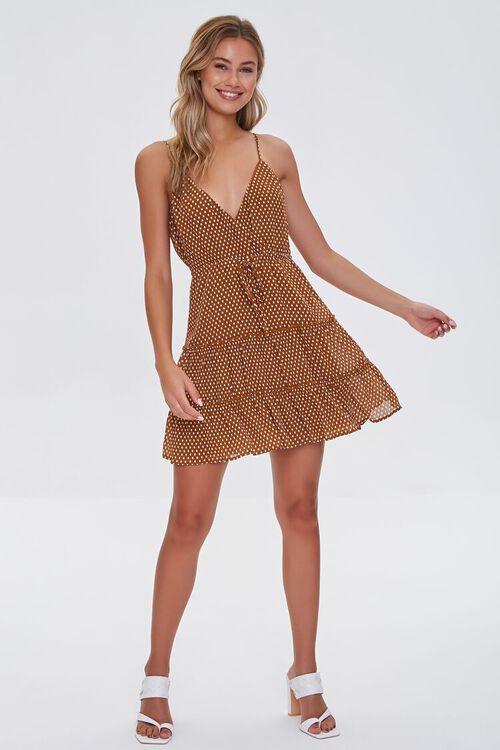Polka Dot Mini Cami Dress, image 4