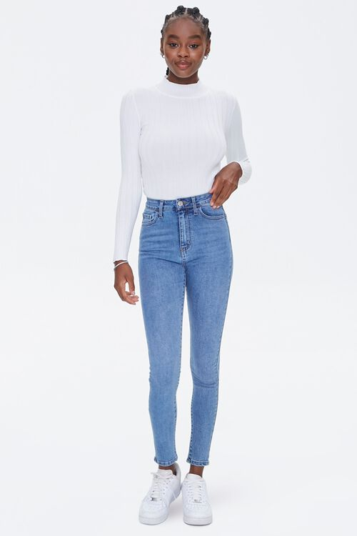 High-Rise Skinny Jeans, image 5
