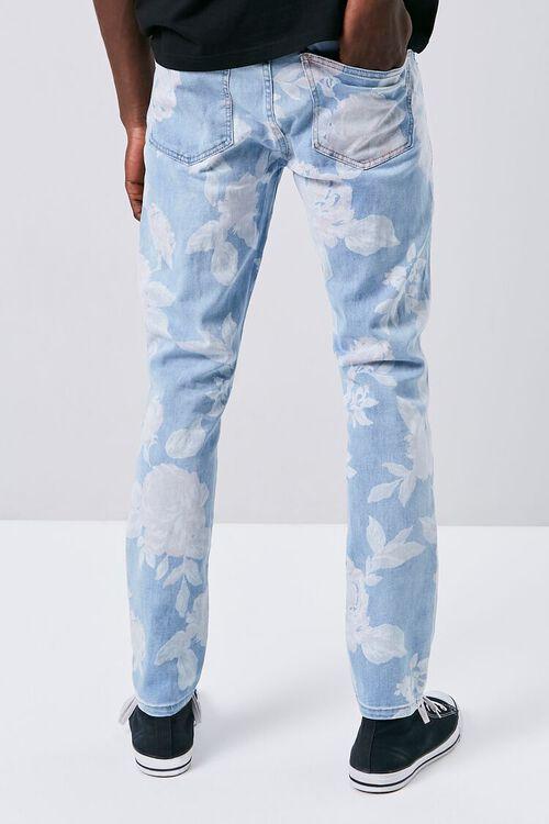Rose Print Skinny Jeans, image 3