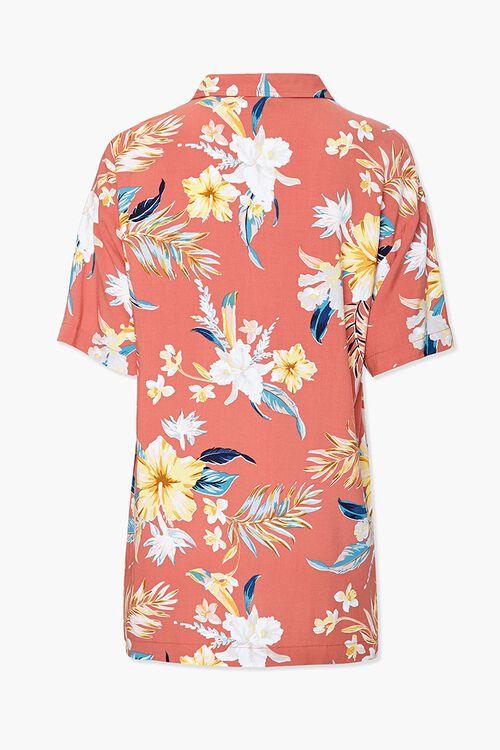 Tropical Floral Print Shirt, image 2