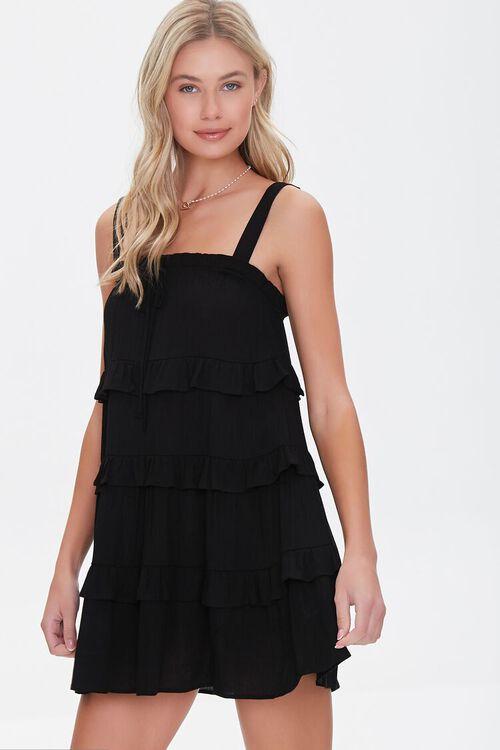 Tiered Ruffle Mini Dress, image 1
