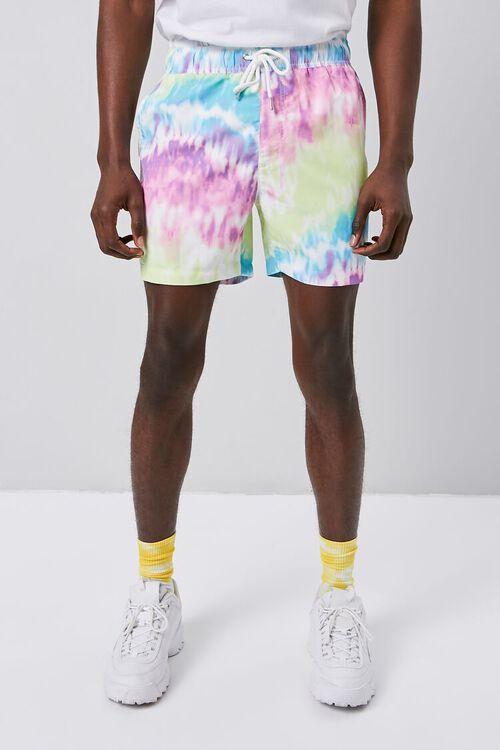 Tie-Dye Wash Swim Trunks, image 2