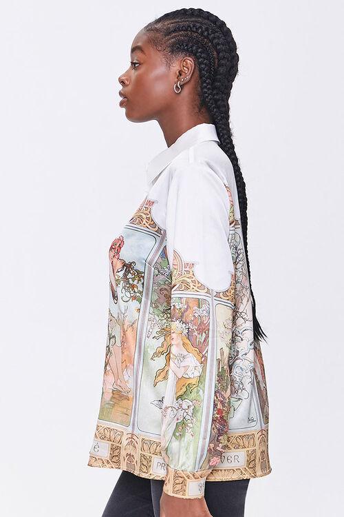Alphonse Mucha Art Print Shirt, image 2